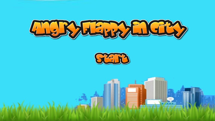 Angry Flappy in the City